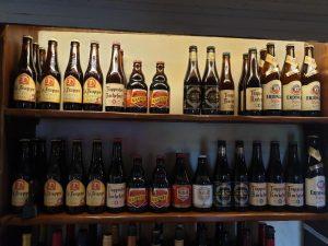 Belgium Beers at The New Inn Appletreewick