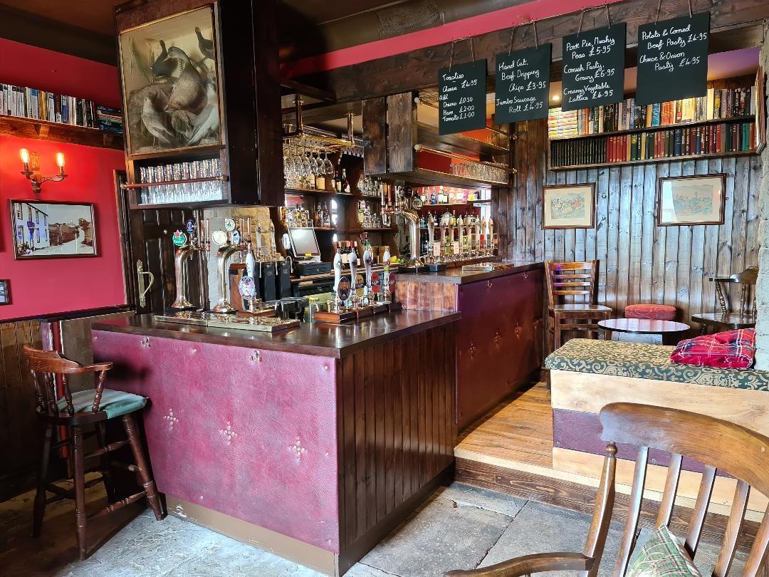 New Inn at Appletreewick Main Bar